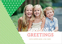 Lively Vibes Holiday Flat Cards - Front