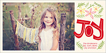Simply Jubilant Photo Card - Horizontal