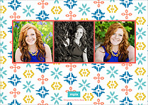 Charming Accolade Graduation Flat Cards - Back