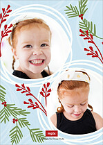 Merriest Dream Christmas Foil Pressed Cards - Back