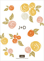 Darling Damsel Invite Wedding Invites Flat Cards - Back