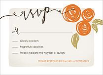 Darling Damsel RSVP RSVP Flat Cards - Front