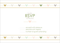 Love Story RSVP - Front