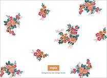 Botanic Dream Reception Reception Flat Cards - Back