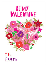 Growing Wild Valentine's Day Flat Cards - Front