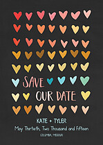 Honeymoon Hearts Date - Front