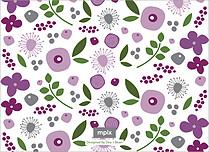 Lasting Lilac Reception Reception Flat Cards - Back