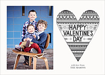 Love Struck Valentine's Day Flat Cards - Front