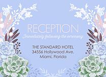 Succulent Garden Reception - Front