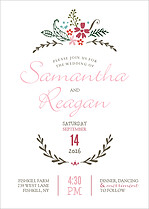 Sweet Forever Invitation Wedding Invites Flat Cards - Front