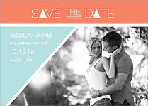 Cabin Fever Date Save the Date Flat Cards - Front