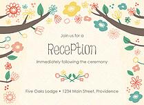 Cumberland Garden Reception Reception Flat Cards - Front