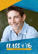 Springtime Bash Graduation Flat Cards - Front