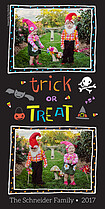 Monster Magic Halloween Photo Cards - Vertical