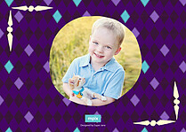 Ringmasters Event Birthday Party Invitations Flat Cards - Back