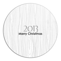 Cozy Christmas Circle - Back