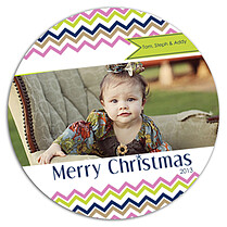 Groovy Christmas Circle - Front