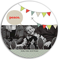 Peace Pennant Circle - Front