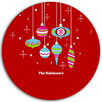 Twinkling Ornaments Circle - Back