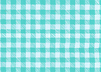 Plaid Pictage Aqua - Back