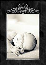 New Arrival Birth Announcements Flat Cards - Front