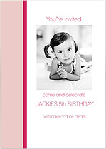 You're Invited Rose Birthday Party Invitations Cards - Front