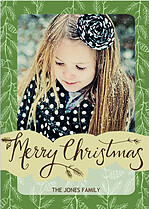 Twigs and Pinecones Christmas Cards - Front