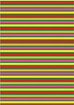 Colorfully Striped - Back
