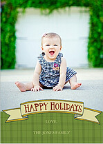 Holidays Banner - Front