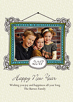 Frame in the New Year - Front