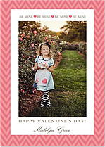 Be Mine Chevron - Front