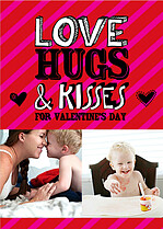 Love, Hugs & Kisses - Front