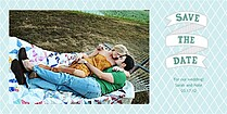 Artsy Save Date Save the Date Photo Cards - Horizontal