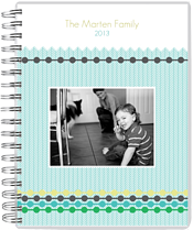 1-Beaded Tracks Day Planner - Front