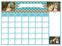 Good Vibrations Dry Erase Calendars Dry Erase Calendar - Front