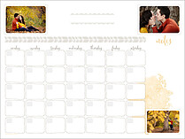 Doodles And Dates Dry Erase Calendars Dry Erase Calendar - Front