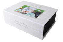 Wedding Bells Keepsake Box - Front