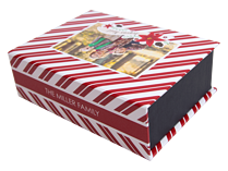 Candy Cane Delight Keepsake Box - Front
