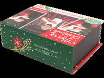 Christmas Blossoms Keepsake Box - Front