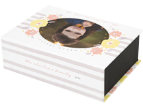 Hello Spring Keepsake Box - Front