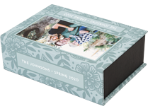 Grand Garden Keepsake Box - Front