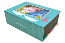 Cupid's Song Keepsake Box - Front