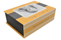 Precious Baby Yellow Keepsake Box - Front
