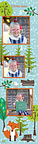Little Sprout Kids Growth Chart - Front