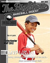 Baseball Black Baseball Magazine Covers - Front