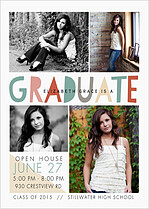 Picture Mixture Graduation Magnets - Front