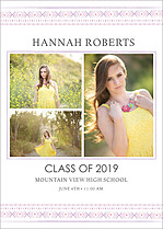 Shining Moments Graduation Magnets - Front