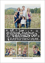 Christmas Collage Christmas Magnets - Front
