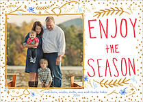 Shining Season Holiday Magnets - Front