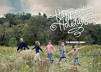 Happiest Holidays - Front